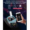 FM-трансмиттер Bluetooth 5.0 модулятор, зарядное устройство QC3.0, microSD и USB, handsfree NOVELEKA FM1